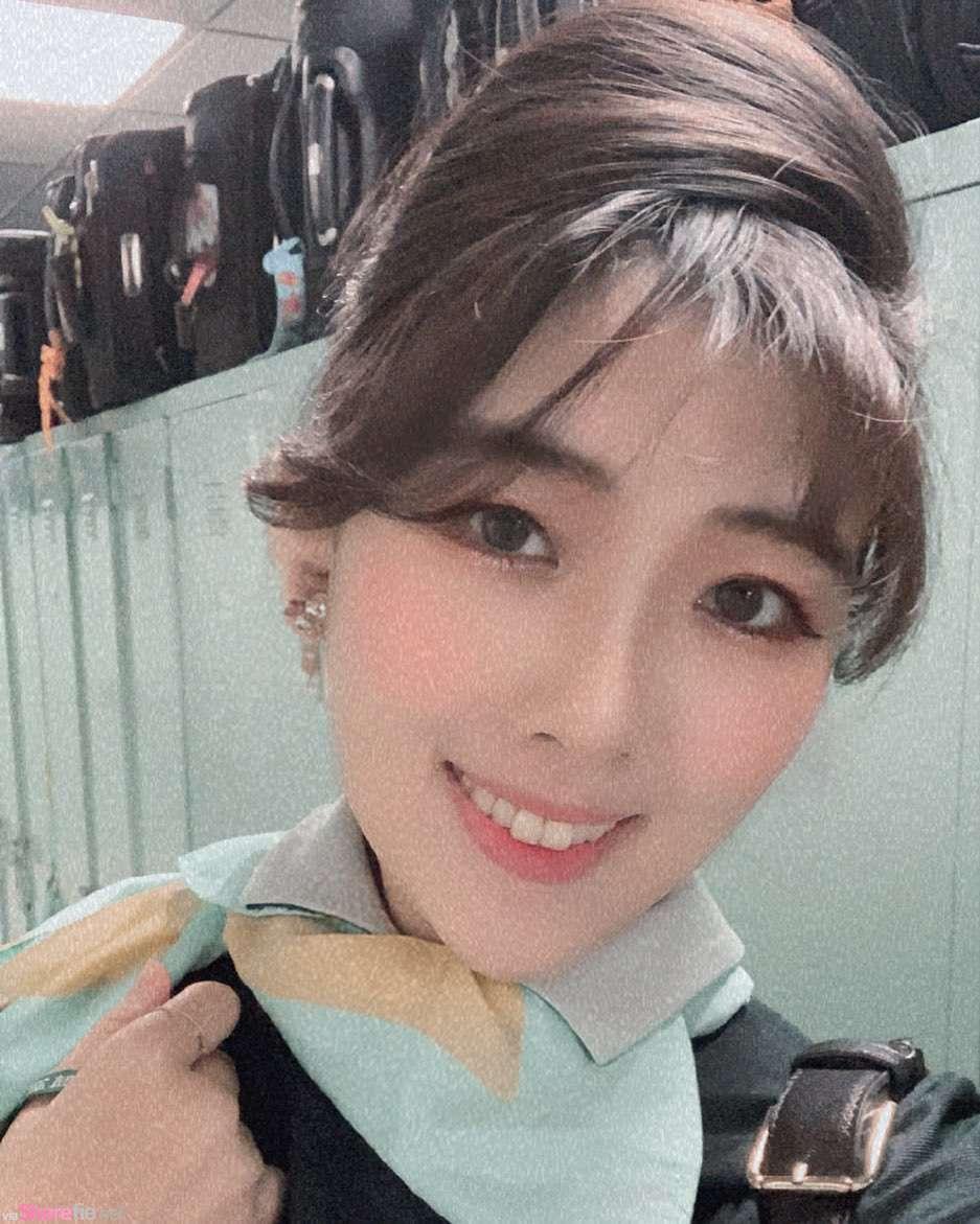 台灣正妹空姐Selina,氣質甜美